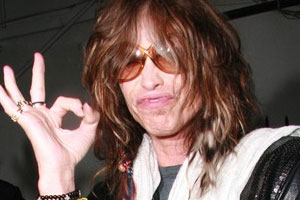 Steven Tyler falls off the wagon