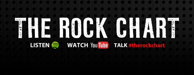 The Rock Chart - The Official Top 30 songs in rock right now - check out how all your favourites are faring in the charts.