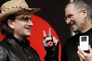 Bono: 'Jobs invented the 21st century'