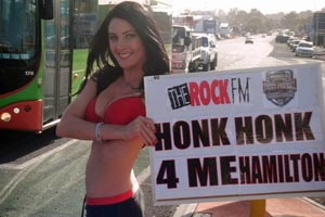Rock Ring Card Girl #4 - Carly