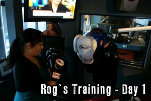 Rog vs Haley Holt - Day 1 of Training