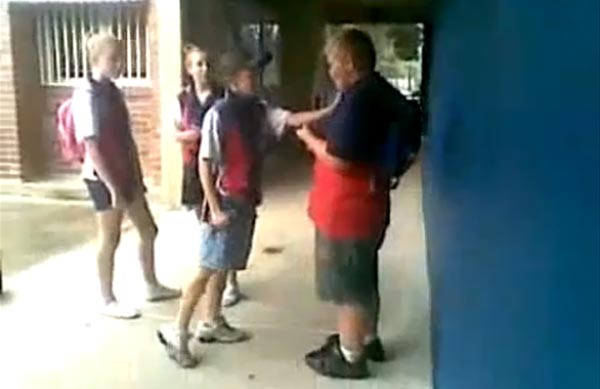 School bully gets owned