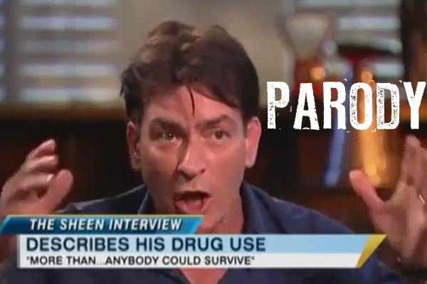 Funny Charlie Sheen autotune parody
