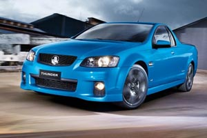 Holden marks ute 60th anniversary with Thunder Edition