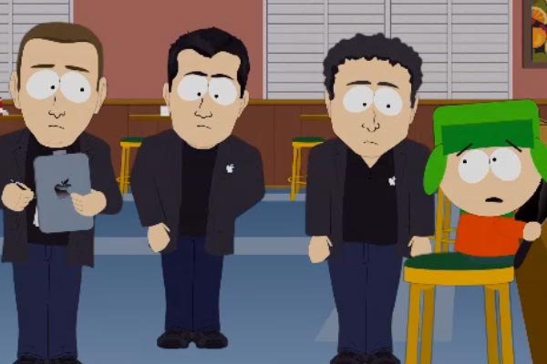 South Park takes the piss out of Apple's fine print