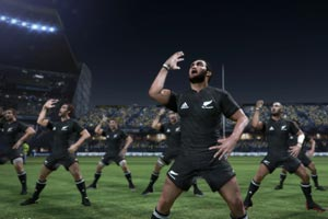 All Blacks Rugby Challenge hands on