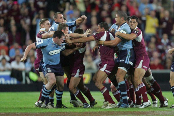 The best State Of Origin fights