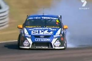 The Giz pulls victory skids after Darwin win