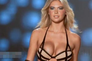 Kate Upton in slow motion