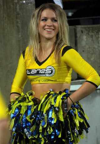 Super Rugby cheerleaders