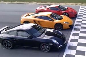 McLaren vs Ferrari vs Porsche