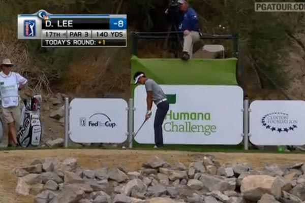 Danny Lee's hole in one