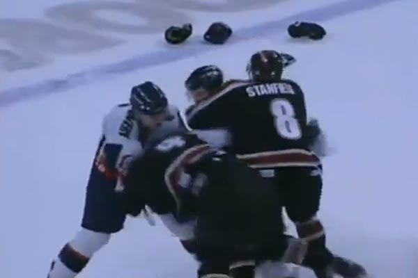 Ice Hockey Brawl
