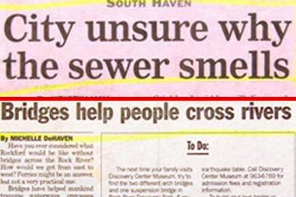 More weird news headlines