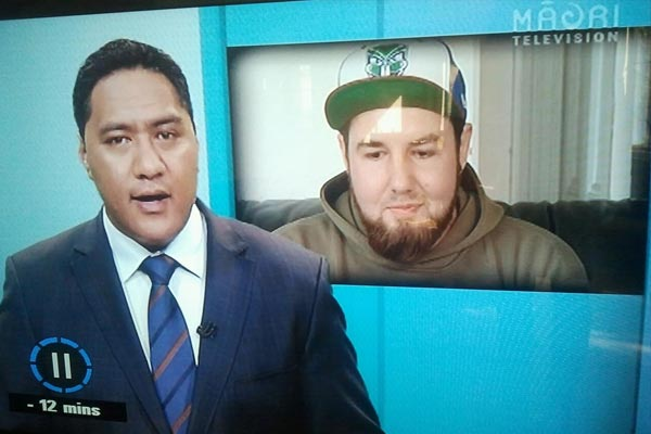 Hungerstrike for Mike - Gumbo gets on Maori TV