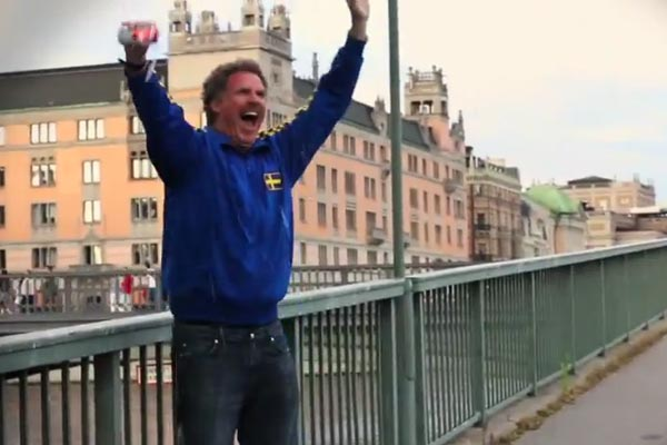 Will Ferrell's weird new dubstep beer commercial