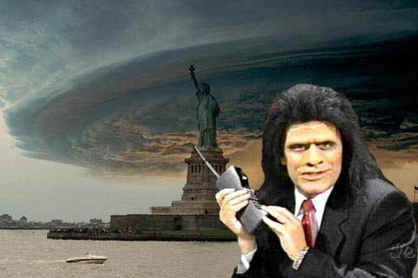 Robert and Jono's Frankenstorm New York phone call