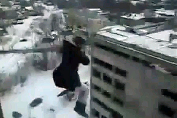 Bungee Jumping Russian Style