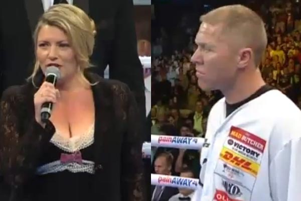 The national anthem nightmare at the Shane Cameron fight