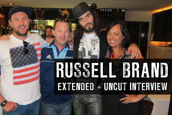 Russell Brand: extended + uncut interview (video)