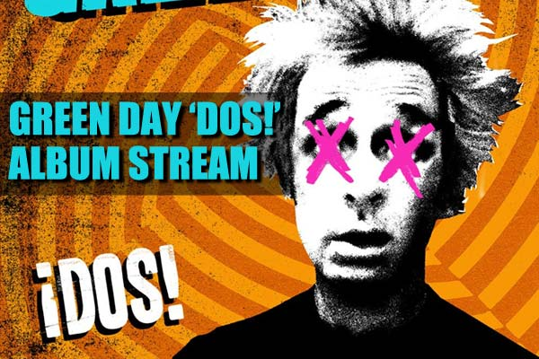 Green Day 'Dos!' album stream