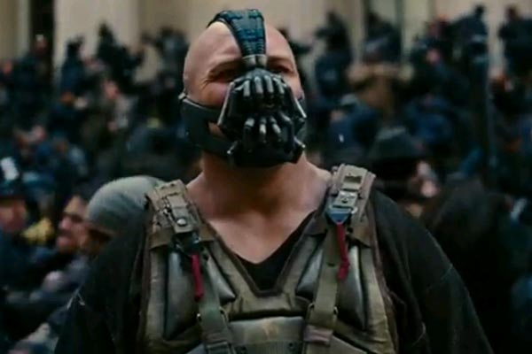 Bane on holiday