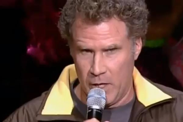 Will Ferrell announces the Chicago Bulls line up