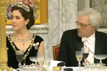 Princess Mary cops a cleavage