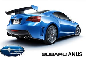 The all-new Subaru Anus