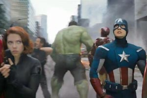 Marvel's The Avengers Super Bowl XLVI Commercial
