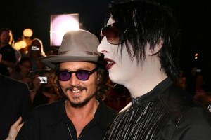 Marilyn Manson and Johnny Depp team up for cover