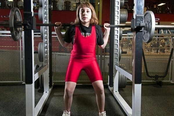 A 10-year-old girl just broke the world weightlifting record