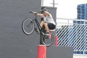Andrew Dickey's wicked bike skills