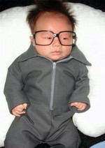Whoever baby Kim Jong-Il is