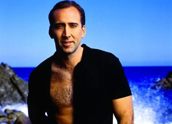And of course Nicholas Cage