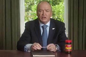 Graham Henry's not just flogging Marmite