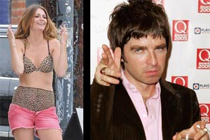 Mischa Barton and Noel Gallagher