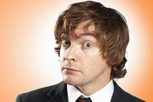 Rhys Darby puts his radio voice on