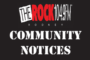 The Rock Rodney Community Notices