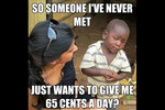 Meet Skeptical 3rd World Kid