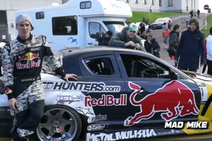 Mad Mike Red Bull RX8 Drift Demo