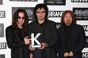 Black Sabbath honoured at Kerrang! Awards
