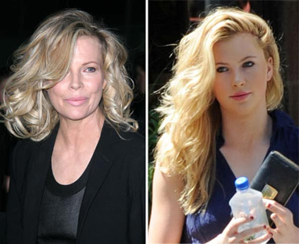 Kim Basinger and Ireland Baldwin