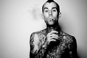 Travis Barker quits marijuana after health scare