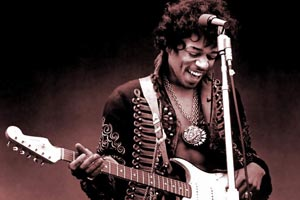Jimi Hendrix tops new Greatest Guitarist list
