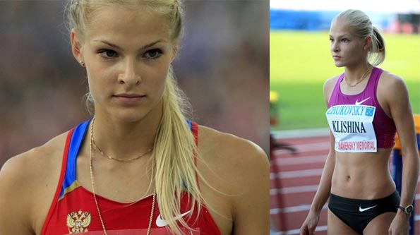 Darya Klishina  Russian long jumper (submitted by Shifty)