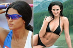 Leryn Franco - Paraguay javelin + model