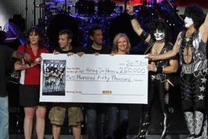 Kiss and Motley Crue donate $250,000 to jobless military