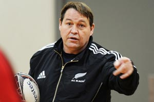 Ali Williams and Steve Hansen talk shop