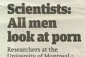 All men look at porn